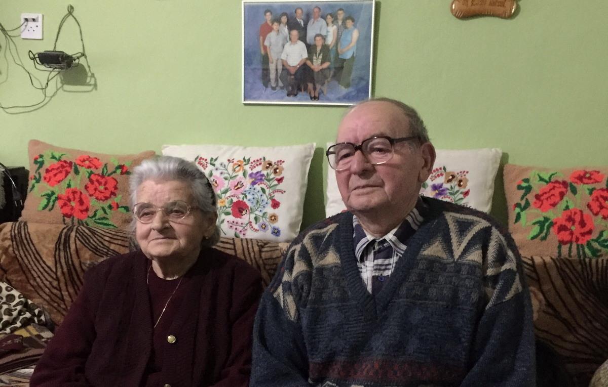 Deka Mihalj i baka Irena Detki - 62 godine u braku