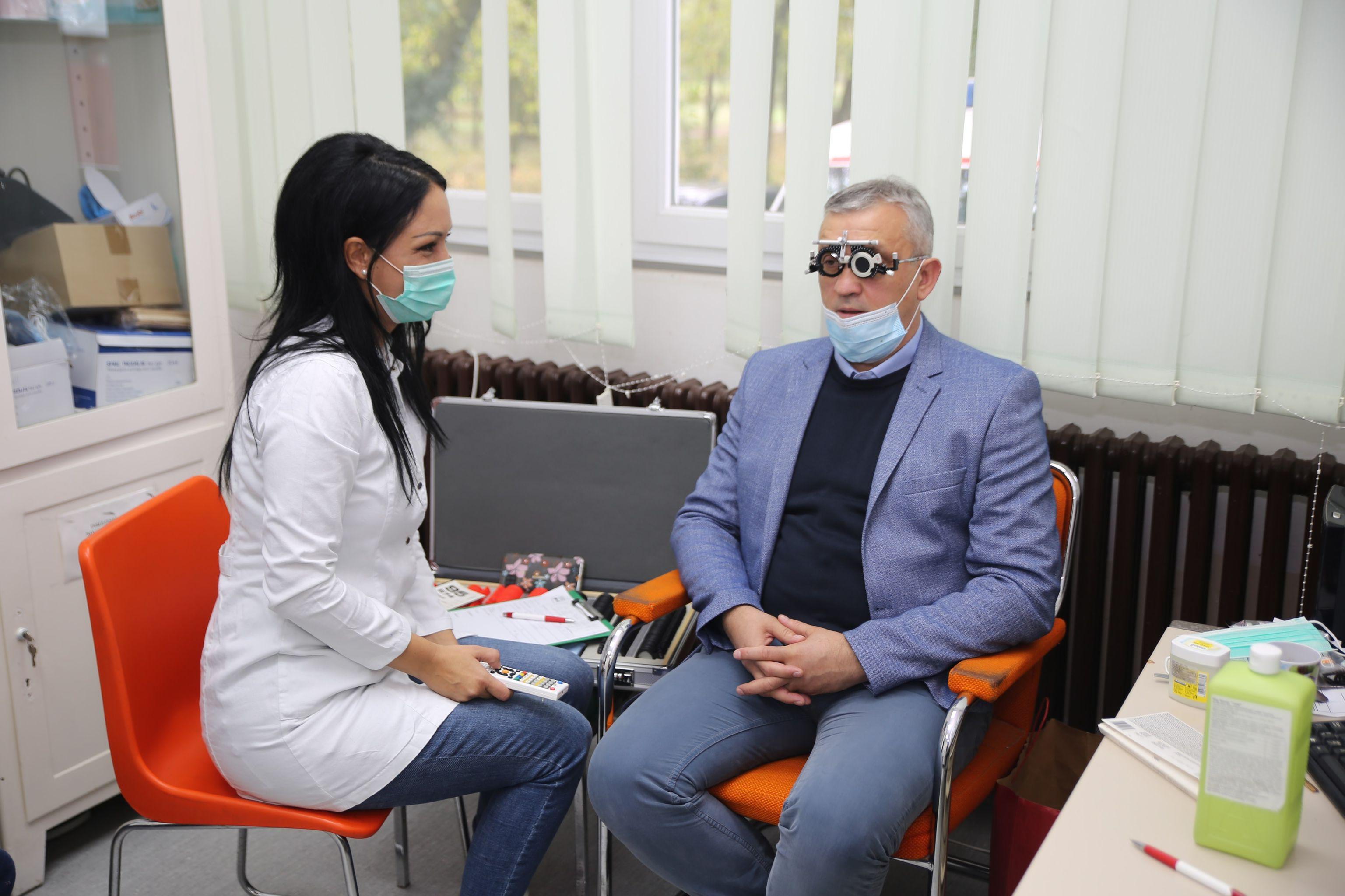Besplatni oftalmološki pregledi u Žitištu