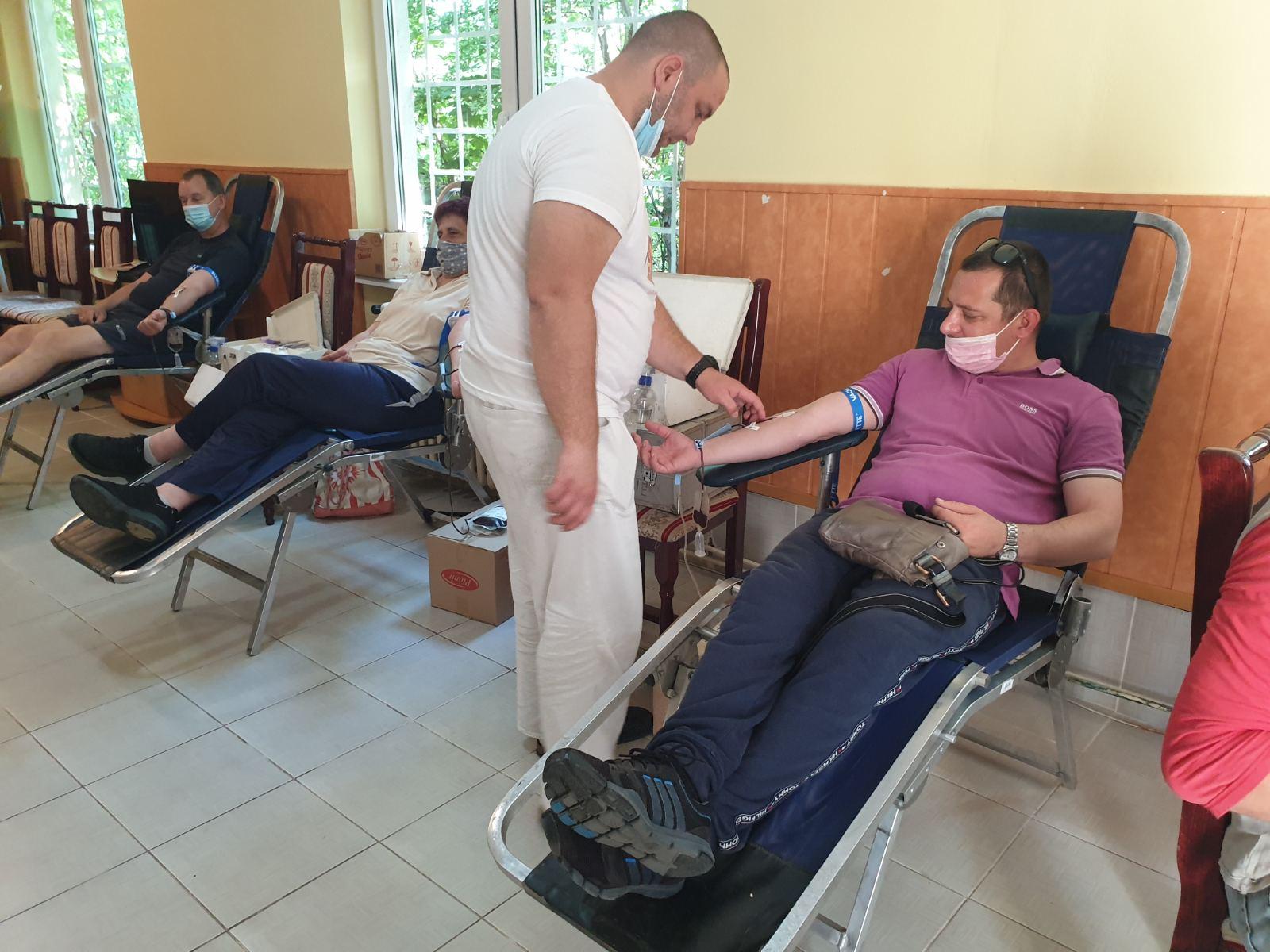 Tri akcije dobrovoljnog davalaštva krvi uspešno sprovedene
