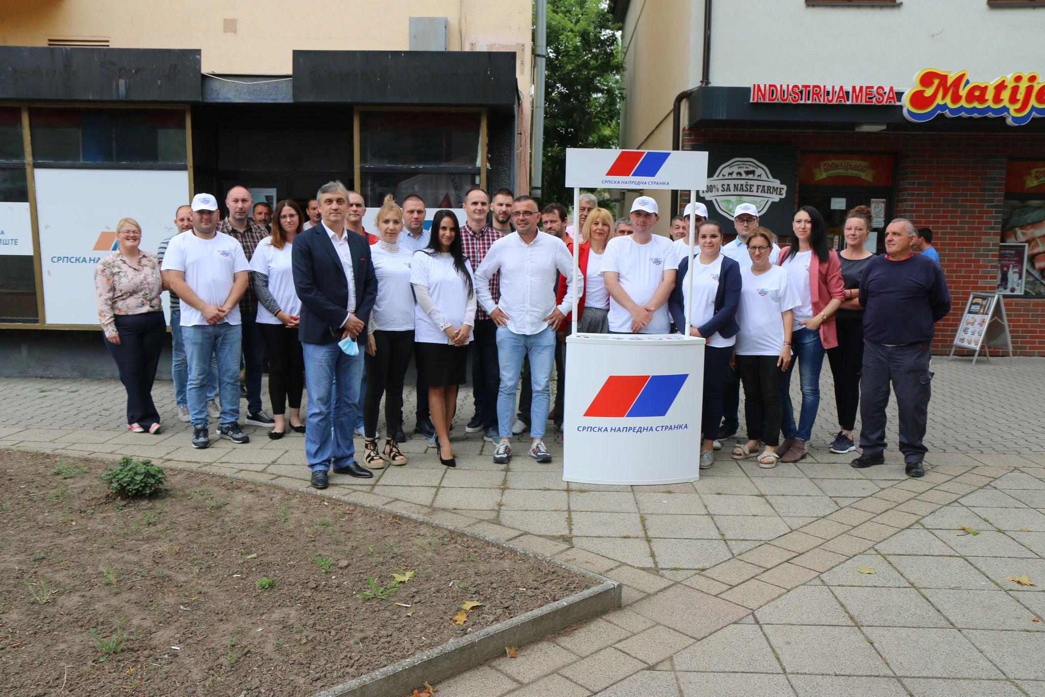 Saopštenje Opštinskog odbora Srpske napredne stranke u Žitištu