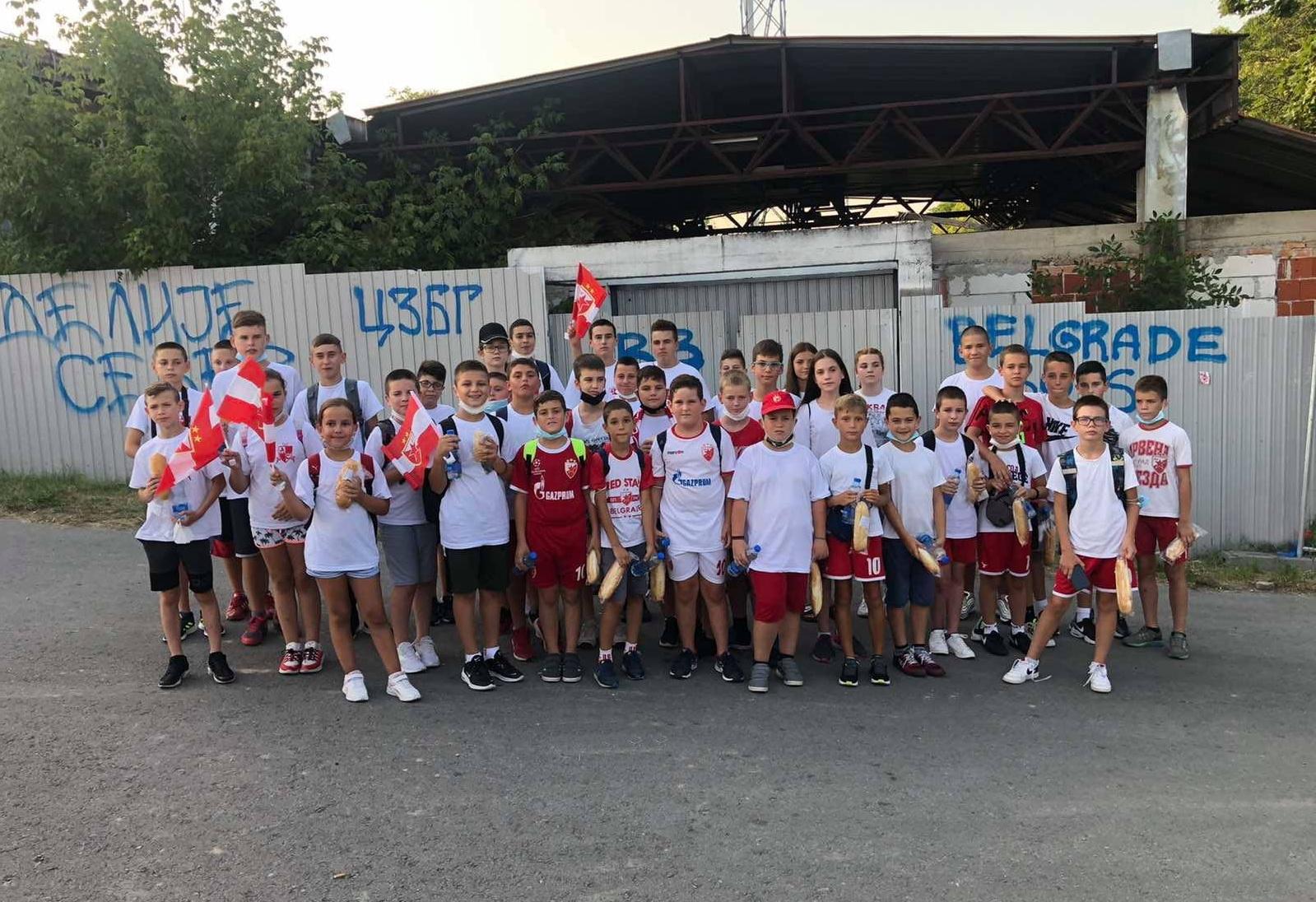 Deca iz Žitišta i Banatskog Dvora gosti na utakmici Lige Šampiona