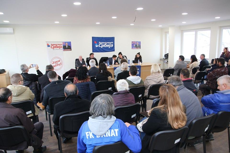 U Žitištu formiran Opštinski odbor Jedinstvene Srbije