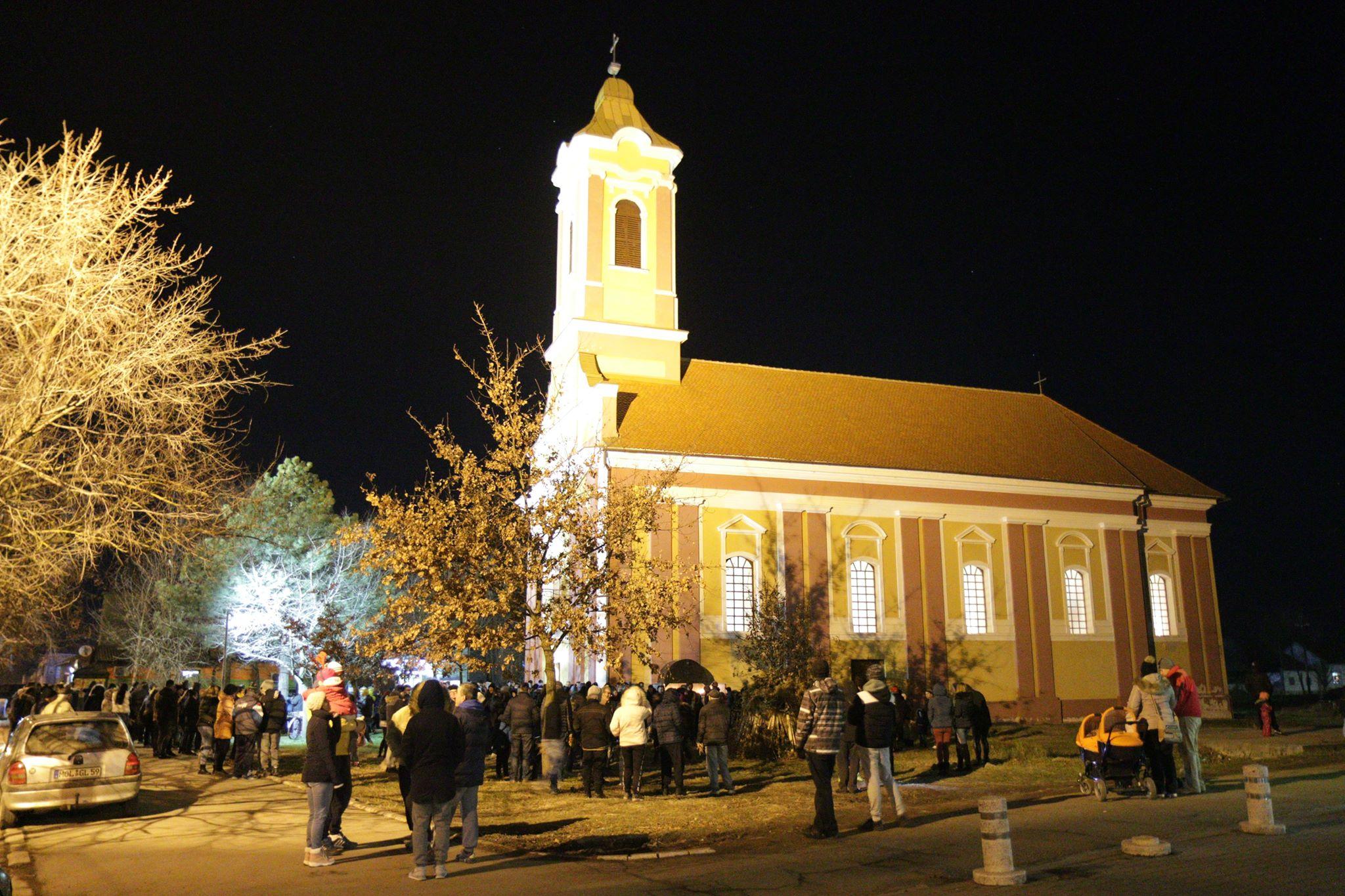Doček Pravoslavne Nove godine uz moleban i vatromet
