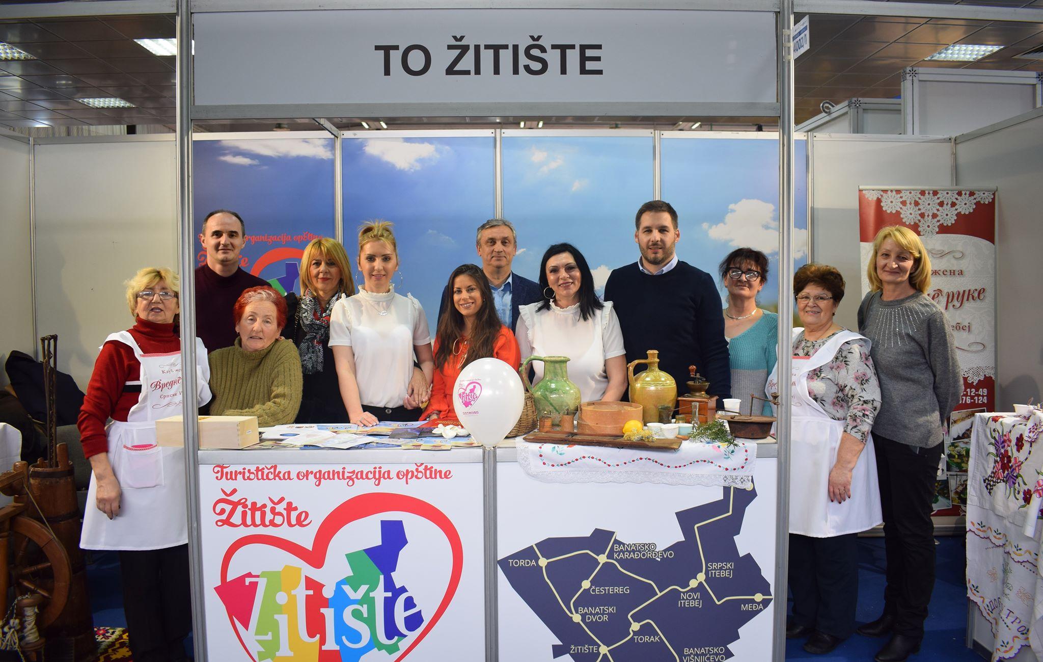 Turistički potencijal opštine Žitište predstavljen na Sajmu turizma