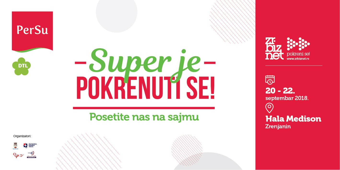 PerSu marketi generalni pokrovitelji  II međunarodnog sajma privrede ZrBizNet