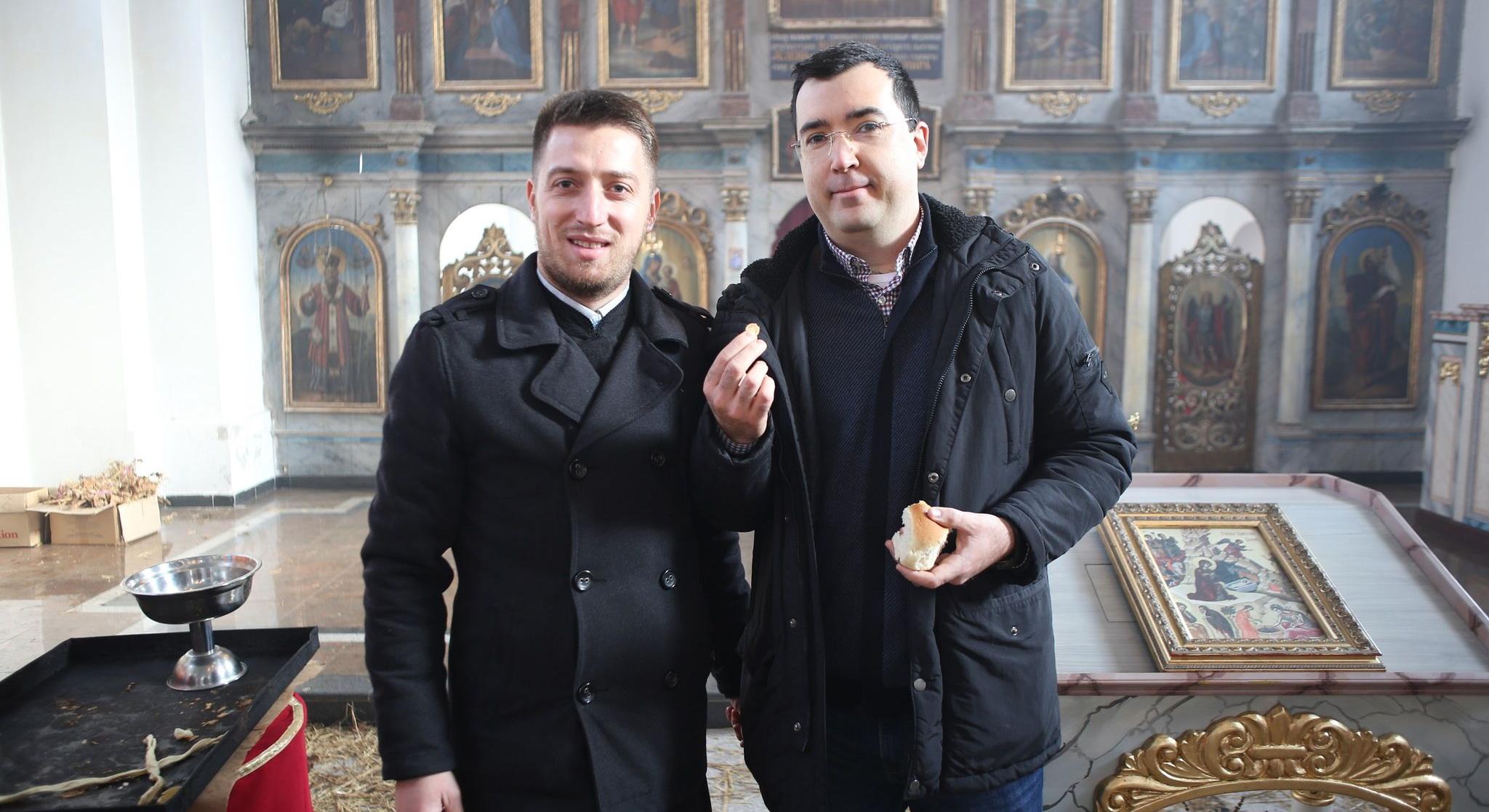 Mile Bradar našao zlatnik u božićnoj česnici