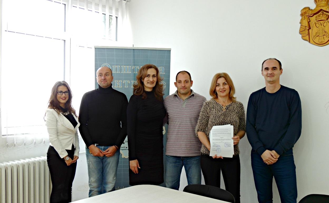 Potpisivanje ugovora po konkursu Zajednici zajedno 2017