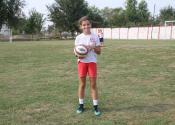 Talentovana fudbalerka iz Žitišta