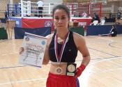 Zorana Nikolić osvojila zlatnu medalju na prvenstvu države u kik boksu