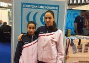 Saška i Zoka zlatne šampionke predstavljale Žitište na Sajmu sporta u Beogradu