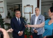 Potpredsednik Pokrajinske vlade i pokrajinski sekretar Mihalj Njilaš u poseti Žitištu