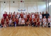 Košarkašice iz Moskve posetile Banatsko Karađorđevo
