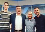 Košarkaši gostovali u emisiji Šarenica na RTS