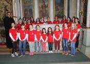 Dečiji crkveni hor iz Srpskog Itebeja