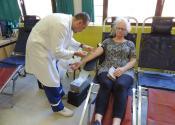 Redovna akcija davalaštva krvi