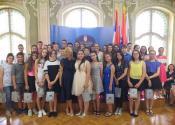 Načelnica Srednjobanatskog okruga priredila prijem za najbolje đake