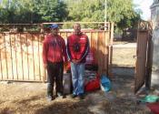 Porodici Pavlović iz Hetina izgorela kuća do temelja, uručena im pomoć