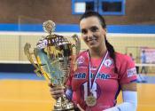 Sjajan uspeh odbojkašice Milane Rajlić iz Ravnog Topolovca i njene ekipe Železničar