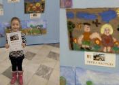 Jovana Vujinović osvojila treću nagradu na likovnom konkursu