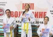 Karatisti Yuko Banata sjajni na Kupu Vojvodine u Apatinu