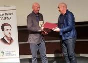 Steva Kočalka dobitnik Spartakove nagrade