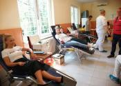 Uspešno sprovedena akcija dobrovoljnog davanja krvi