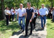 Ministar Zoran Đorđević obišao Žitište