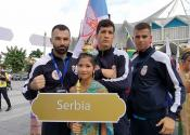 Tomislav Milić na ceremoniji otvaranja Svetskog prvenstva na Tajlandu