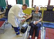 Akcija dobrovoljnog davanja krvi u Česteregu i Međi
