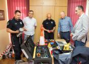 Policijskoj stanici u Žitištu uručena nova oprema