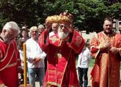SVEČANO NA VIDOVDAN: Obeležena crkvena slava u Banatskom Karađorđevu