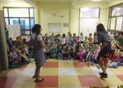 Pozorišna predstava ''Dečija prava i obaveze'' u vrtiću u Žitištu