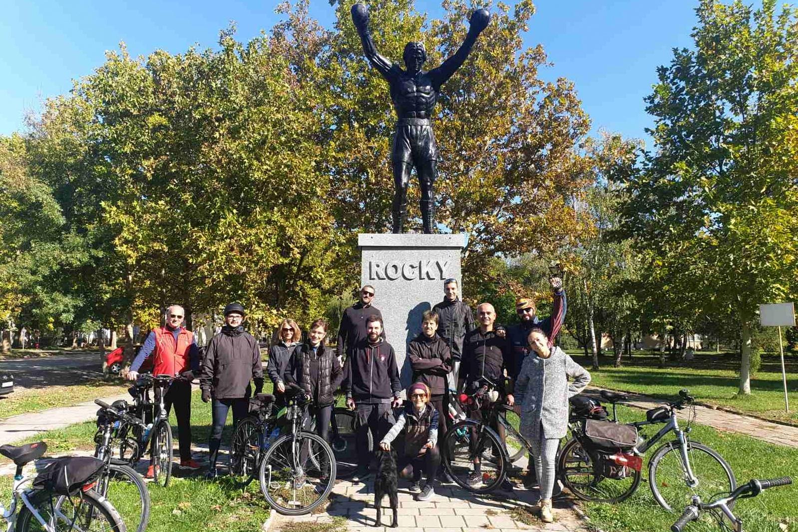 Biciklisti u akciji ''Tragom Begeja