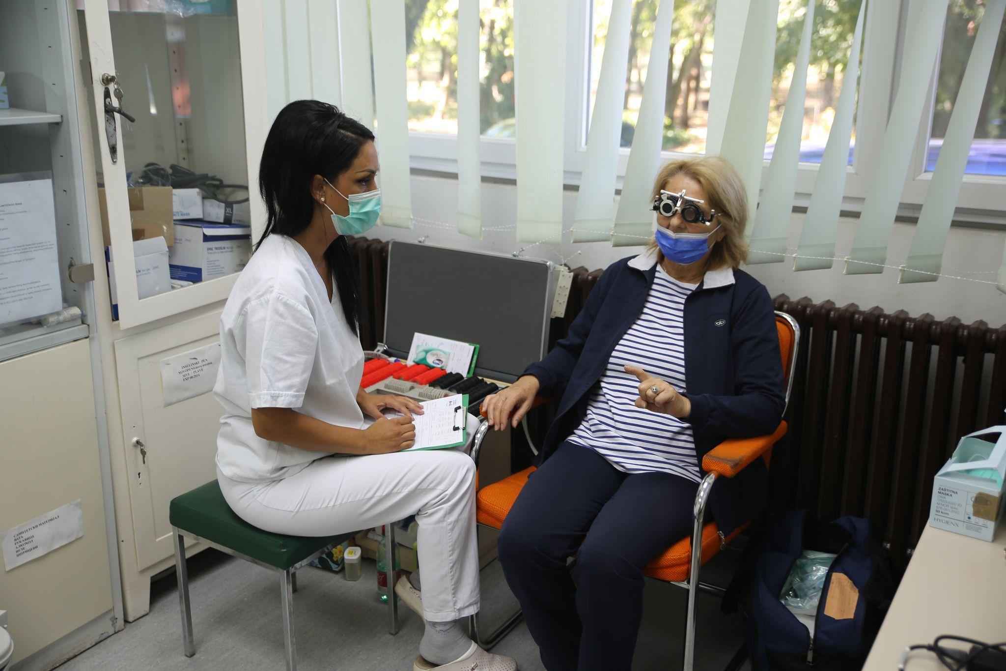 Besplatni oftamološki pregledi u Žitištu
