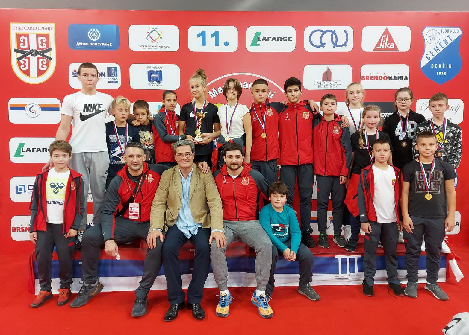 Milica Radaković prva na Trofeju Beočina