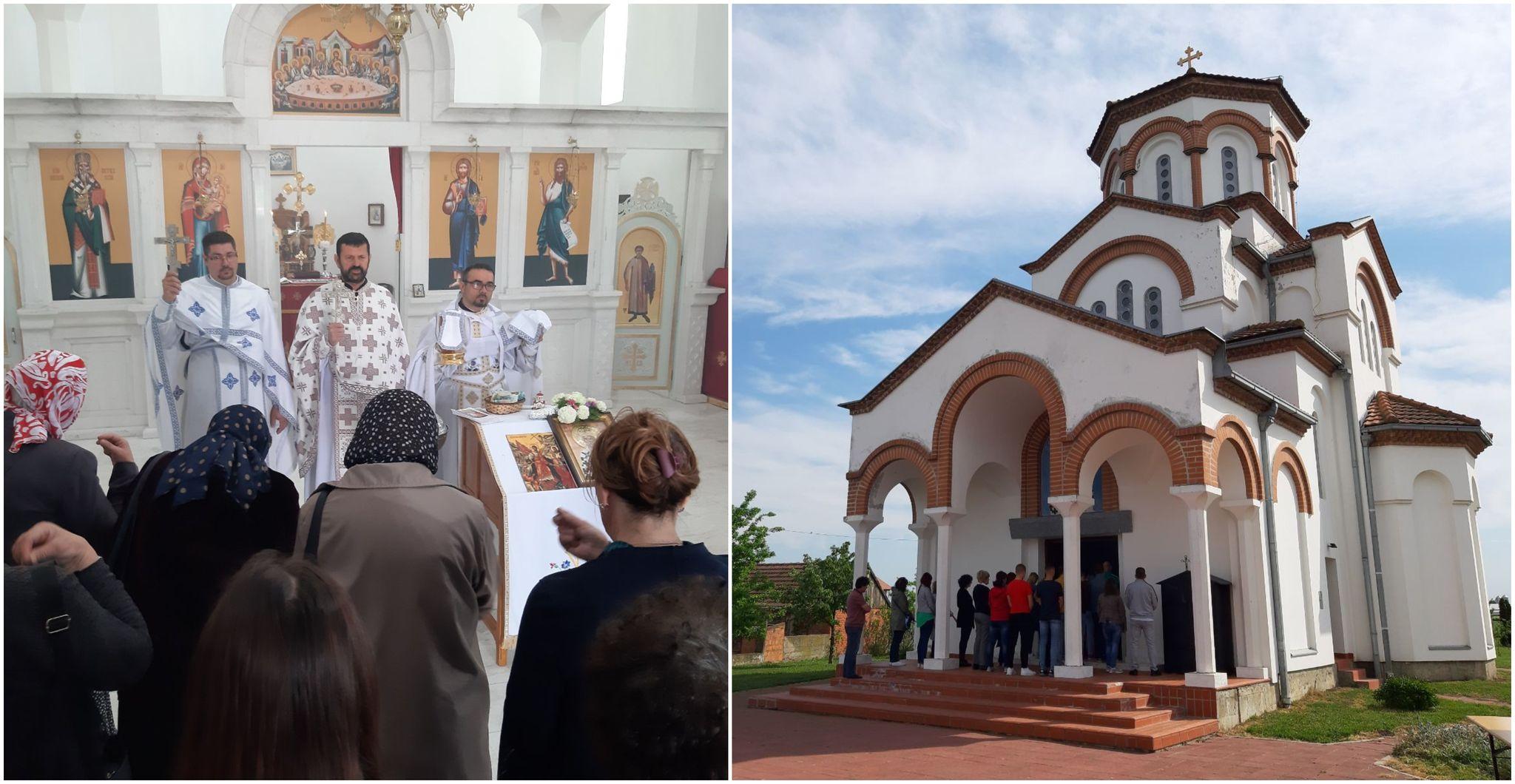 Slava crkve Svetog Vasilija Ostroškog u Ravnom Topolovcu